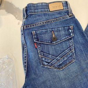 Levi's Boot Cut Perfect Waist Jeans 525
